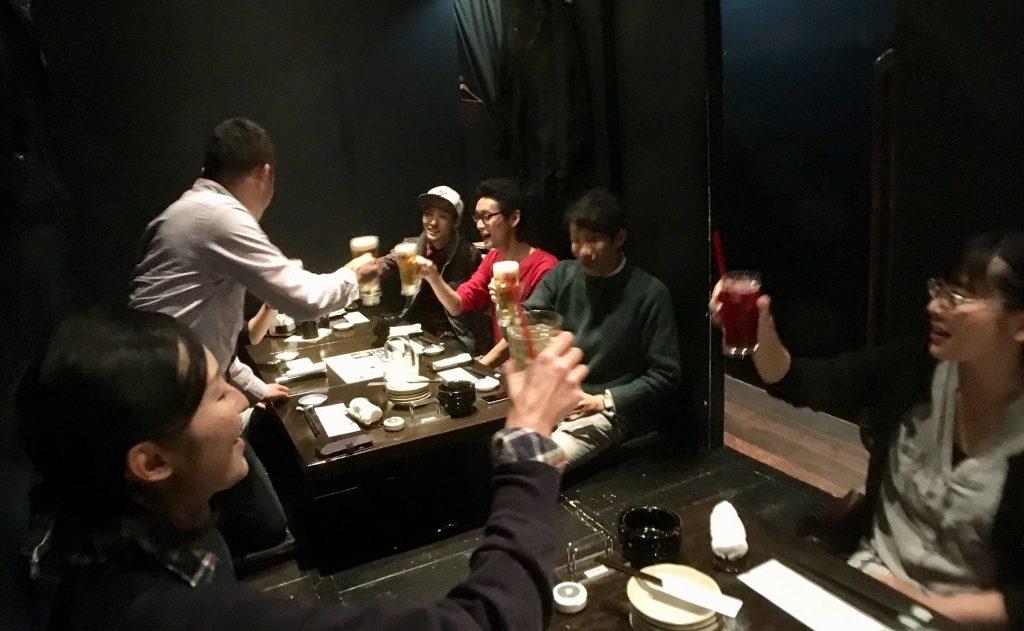 北海道留学センター 交流会様子